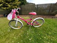 Decathlon B'Twin Mistigirl 500 Kids 20-Inch Pink Bicycle