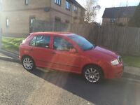 Skoda Fabia vrs 2006 red