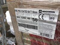 Rockwooll Fire Coated Batt 50mm