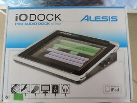 ALESIS I0 DOCK PRO AUDIO DOCK -FOR IPAD