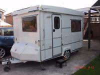 Gobur Folding Caravan 2003