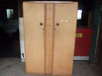 Wardrobe Large Double 1960's Delivery available