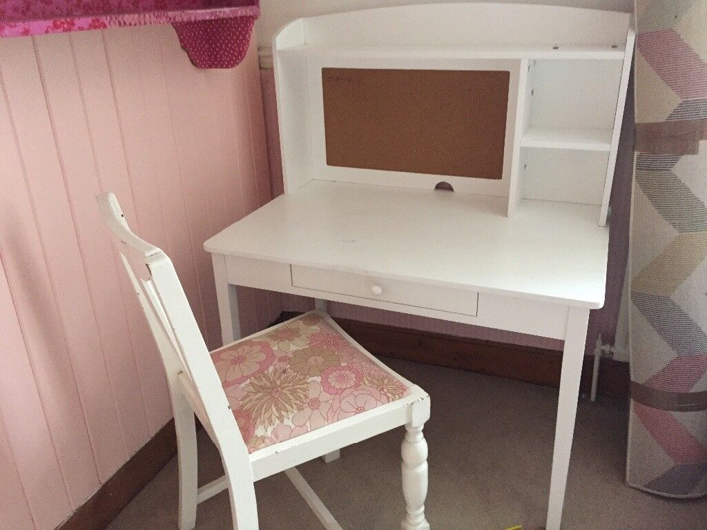 Child's desk and chair (Great Little Trading Company)