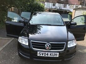 2004 Volkswagen Touareg 2.5 TDI 5dr 4 By 4 Good Runner Automatic @07445775115