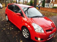 TOYOTA COROLLA VERSO D4D 7 SEASTERFULL LEATHER MPV DIESEL 3 OWNERS SERVICE HISTORY X2 KEYS 2007