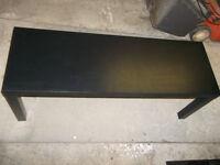 Ikea Lack Black Coffee Table 120cm x 40cm