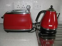 Delongi Toaster & Kettle+ Camping Kettle & Electric Kettle