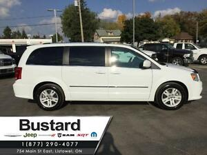 2015 Dodge Grand Caravan Crew Plus | One Owner | Heated Leather