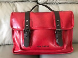 Genuine TED BAKER briefcase - Red Leather