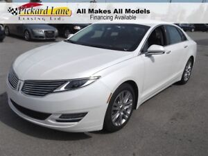 2013 Lincoln MKZ Base $151.95 BI WEEKLY! $0 DOWN! LEATHER!! BLUE