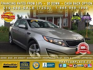 2015 Kia Optima LX-$65/Wk-Bluetooth-USB/AUX/CD/Mp3-Htd Fr Sts-Ti London Ontario image 1