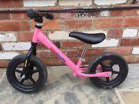 Kiddimoto Balance Bike Pink