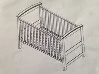 SILVER CROSS COT/COT BED