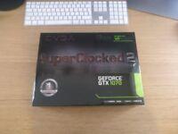 Graphics Card: EVGA GeForce GTX 1070 SC2 GAMING, 8GB GDDR5, iCX Technology