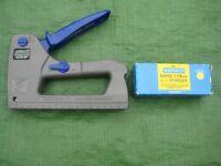 Rapesco Z13-P Staple Gun - uses 13/6-14 mm Staples and 180/15 mm Nails