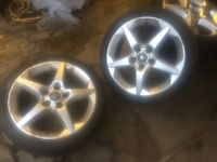 "Vauxhall corsa 17"" Sri alloys and Tyres"