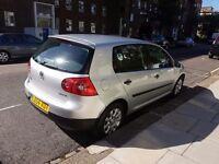 vw golf 1.6 fsi silver full service history new mot.