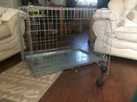 DOG CAGE GOOD CONDITION,