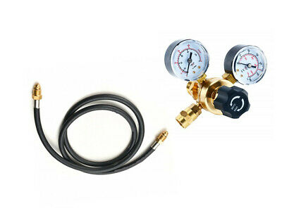 Argonco2 Regulator Gauges With Hose Welding Cga580 Fits Miller Lincoln Mig Tig
