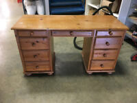 Pine Desk/Sideboard