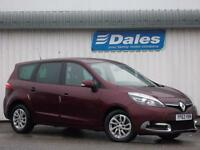Renault Grand Scenic 1.5 dCi Dynamique Tomtom Energy 5Dr Estate (red) 2014