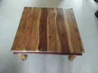 Rustic coffee table / solid wood