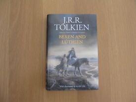 J. R. R. TOLKIEN BEREN AND LUTHIEN HARDBACK BOOK