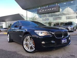 2012 BMW 7 Series Nav Lthr AWD Btooth Sroof BUcam