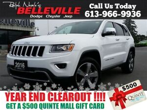 2016 Jeep Grand Cherokee Limited-Sunroof-Back UP Camera