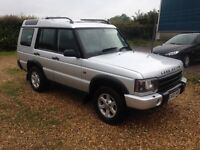 2003 03 LANDROVER DISCOVERY 2.5td5 GS auto 7 seater