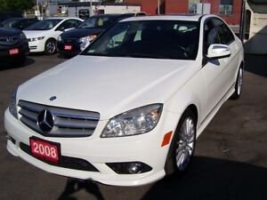 2008 Mercedes-Benz C-Class 2.5L/4 MATIC/BLUETOOTH Kitchener / Waterloo Kitchener Area image 1