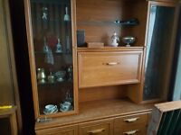 Wall units. Free of charge to collector. wood effect