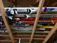 Skis and Bindings - 4 Working Pairs and One Vintage Pair £5 each pair