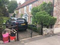 Period / reclaimed country property steel gates