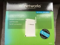 Brand New On Networks WiFi Router + DSL modem
