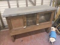 Rabbit or Guineapig hutch 4ft