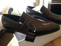 Gents Versace Collection Dark Brown Slip On Shoes Size 9