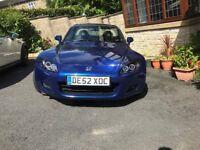 Honda S2000 Monte Carlo Blue