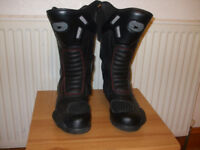 Motorcycle boots. Size 10. Like new!