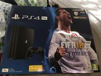 PS4 1TB with Fifa 18 & 14 day trial