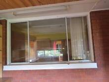 Three Aluminium Frame Glass Windows for sale $100 each Westmead Parramatta Area Preview