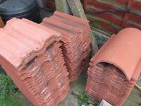 Redland 50 Double Roman 2201 Roof Tiles / 42 Tiles