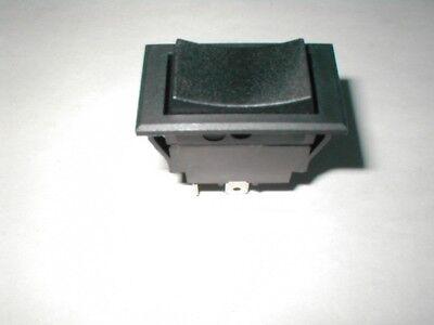 Momentary 3 Position Rocker Switch Black Spdt 10 A - 250 V 16 A - 125 V