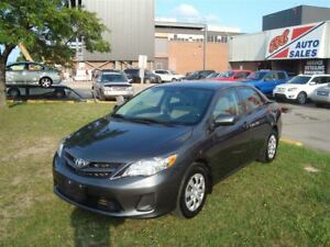 2012 Toyota Corolla LE ~ LOW KM'S ~ POWER OPTIONS ~ BLUETOOTH ~