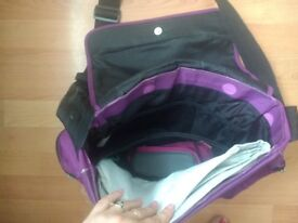 Zeta Voom Childrens Baby's Pushchair Nappy Changing Bag