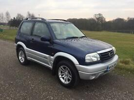 2004/04 SUZUKI GRAND VITARA 1.6 16v SE AUTO 3 DOOR