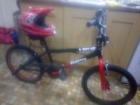 "BARGAIN...Excellent condition boys 20"" BMX with 360 degree handlebars"