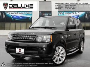 2012 Land Rover Range Rover Sport Supercharged S/C SPORT NAVI...