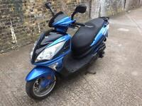 Fully working. 2015 Lexmoto FMS 125cc learner legal 125 cc scooter with MOT.