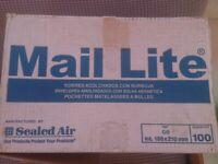 Mail lite 150 x 210 padded envelopes